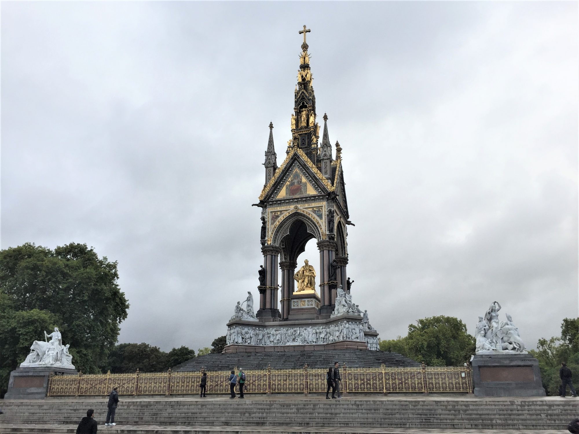 The Albert Memorial, Kensington Gardens, London, September 2017 (Photo: Sarah Sundin)