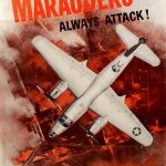 US poster for B-26 Marauder medium bombers, WWII