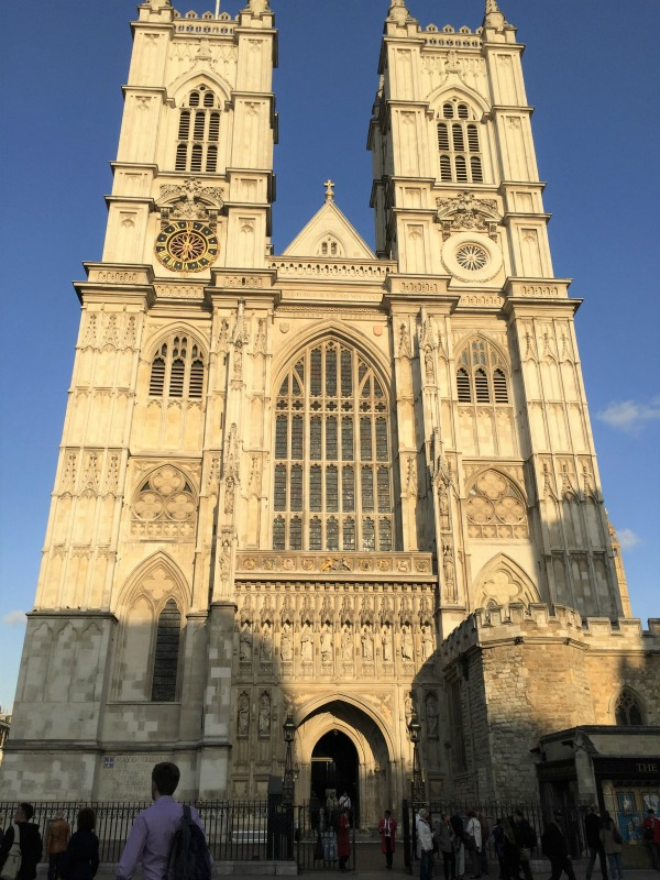 Westminster Abbey, London, September 2017 (Photo: Sarah Sundin)