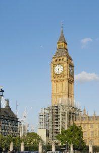Big Ben, London, September 2017 (Photo: Sarah Sundin)
