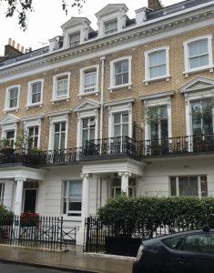 """Dorothy's neighborhood"" in Kensington, London, September 2017 (Photo: Sarah Sundin)"