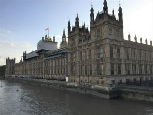 Houses of Parliament as viewed from Westminster Bridge, London, September 2017 (Photo: Sarah Sundin)