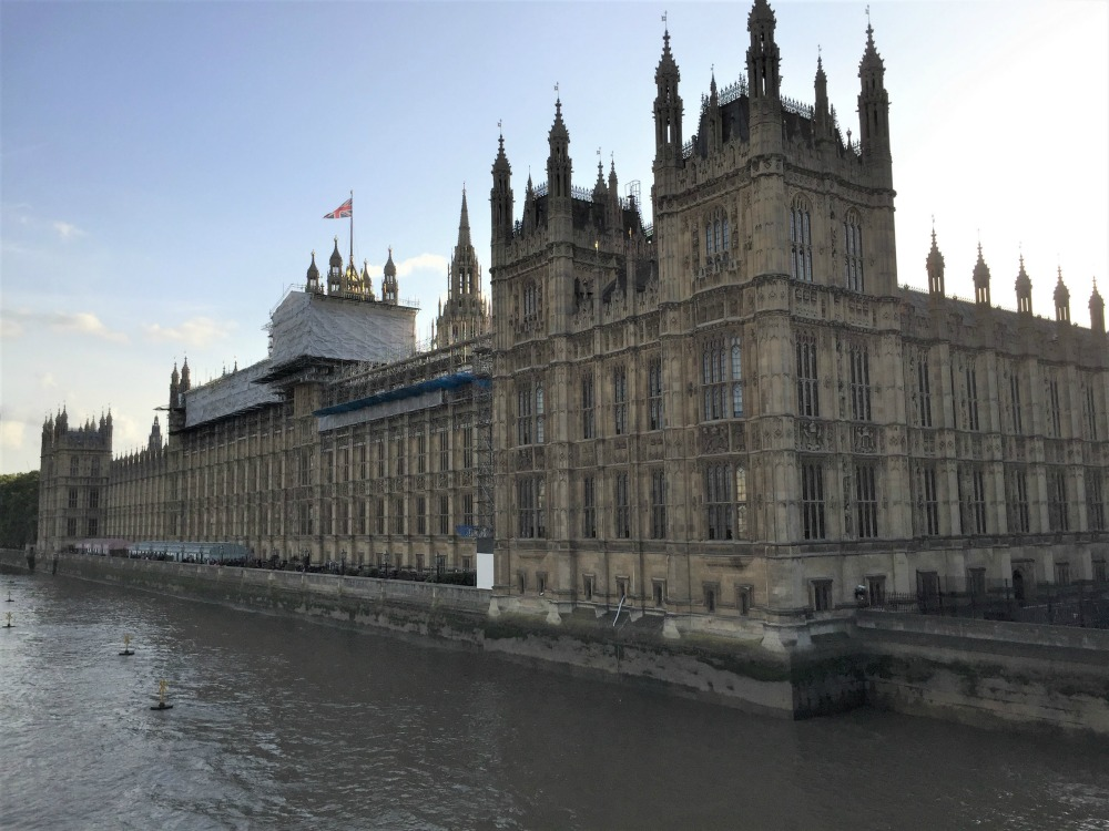 Houses of Parliament as viewed from Westminster Bridge, London, September 2017 (Photo: Sarah Sundin)