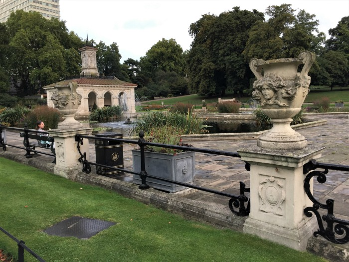 Italian Gardens in Kensington Gardens, London, September 2017 (Photo: Sarah Sundin)