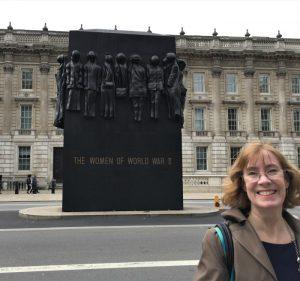 Monument to the Women of World War II, Whitehall, London, September 2017 (Photo: Sarah Sundin)