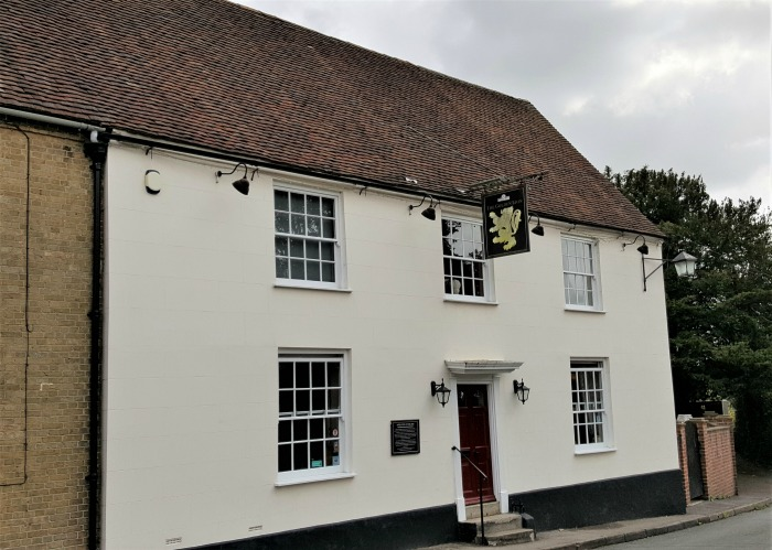 The Golden Lion, Southwick, Hampshire, England, September 2017 (Photo: Sarah Sundin)