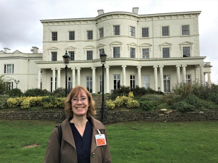 Sarah Sundin at Southwick House, England, September 2017 (Photo: Sarah Sundin)