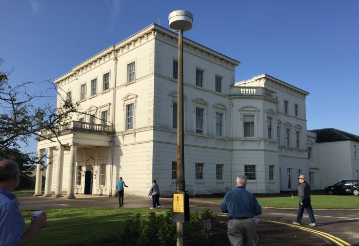 Approaching Southwick House from the rear, entrance on the side to the left, Southwick House, England, September 2017 (Photo: Sarah Sundin)