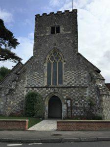St. James Church, Southwick, Hampshire, England, September 2017 (Photo: Sarah Sundin)