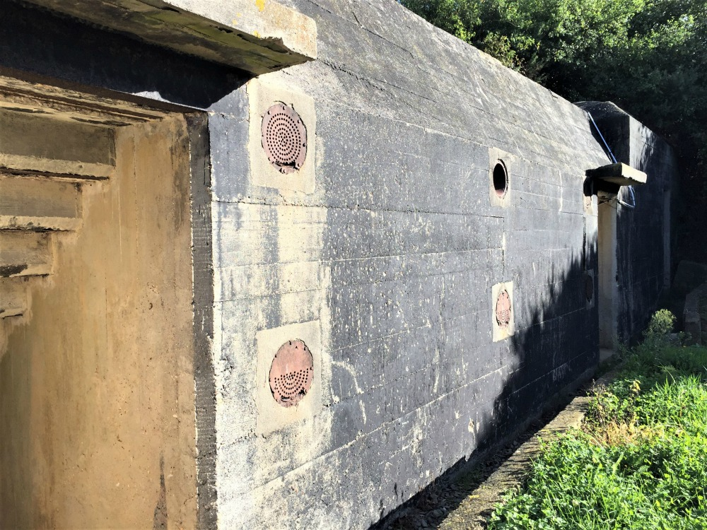 Bunker at Maisy Battery, Maisy-Grandcamps, France, September 2017 (Photo: Sarah Sundin)