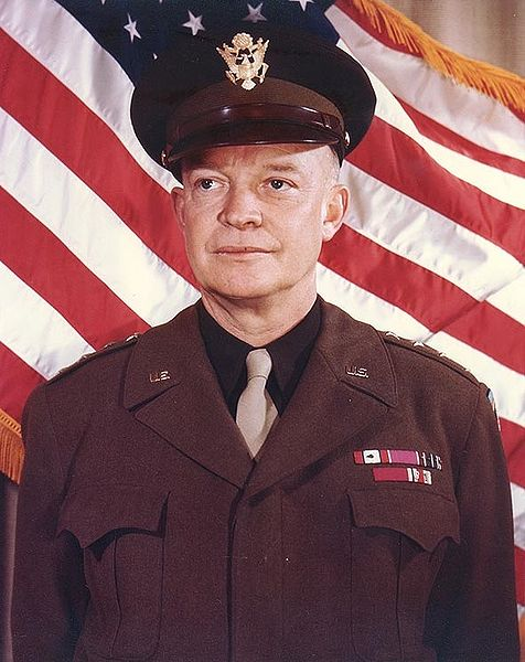 Gen. Dwight D. Eisenhower, 31 Dec 1943 (US National Archives)