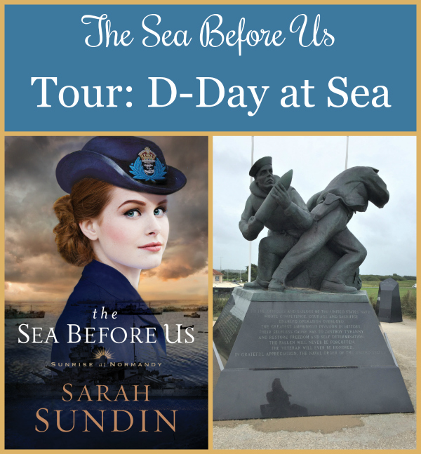 To celebrate the release of The Sea Before Us, Sarah Sundin is conducting a photo tour of locations from the novel from her research trip. Today - D-day at Sea!