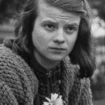 Sophie Scholl, 1942 (public domain via Wikipedia)