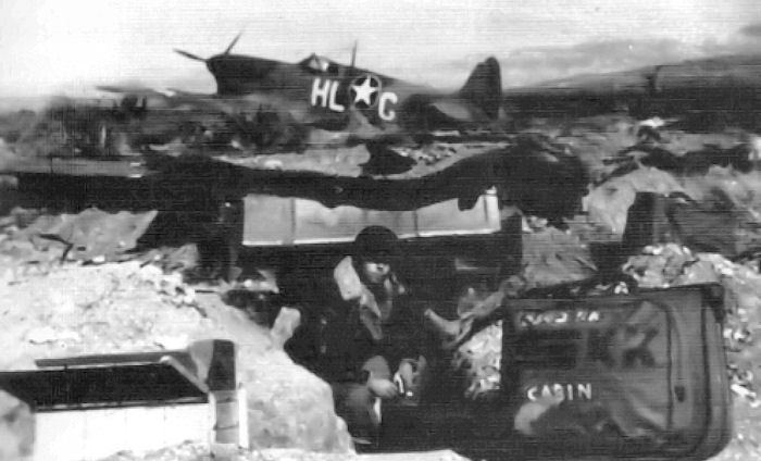 US 31st Fighter Group at Thélepte Airfield, Tunisia, 1943 (US Air Force photo)