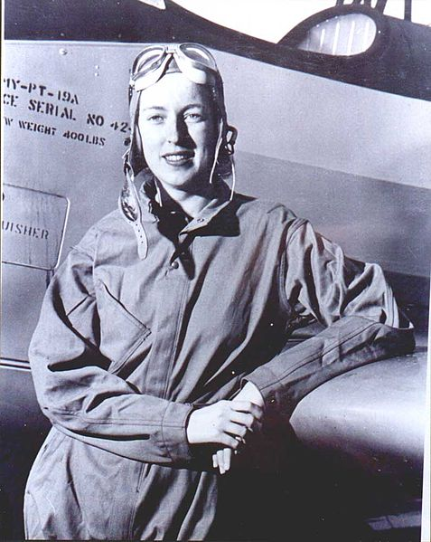 Cornelia Fort, 1940 (US Air Force photo)
