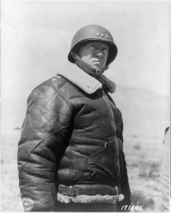 Lt. Gen. George Patton in Tunisia, 30 Mar 1943 (Library of Congress)