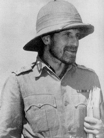 Brigadier Orde Wingate, leader of the Chindits (US Army Center of Military History)