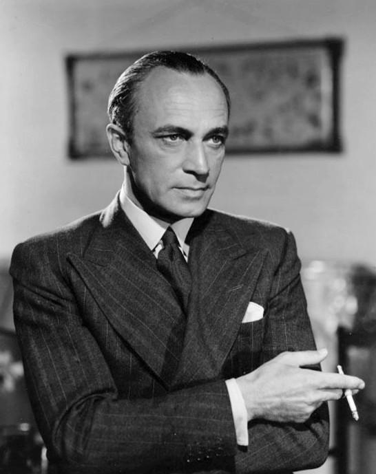 Conrad Veidt, 17 March 1941 (MGM photo, public domain via Wikipedia)