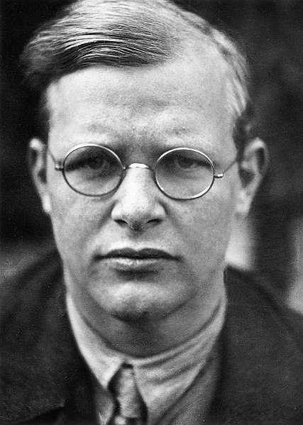 Dietrich Bonhoeffer, 1940 (public domain via Wikipedia)