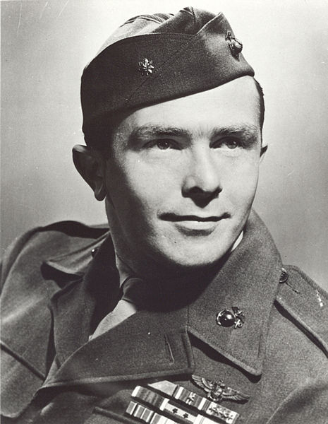 James Swett, WWII (US Marine Corps photo)