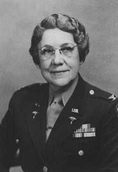 Col. Florence Blanchfield, US Army Nurse Corps (US War Department photo)