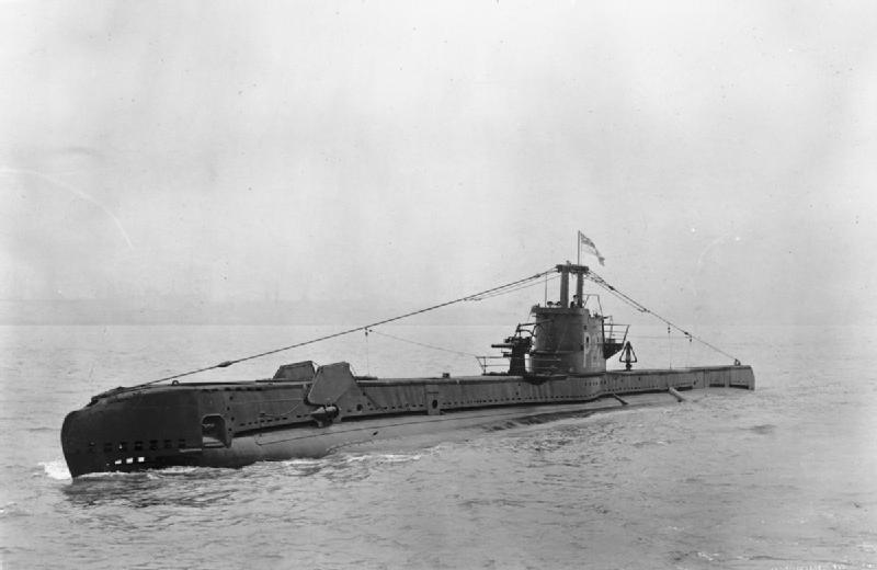 Submarine HMS Sickle, Dec 1942 (Imperial War Museum)