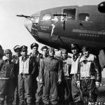 B-17 Memphis Belle and her crew in England, 7 June 1943 (US Air Force photo)