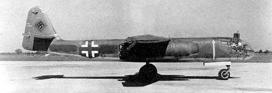 Luftwaffe Arado Ar 234 Blitz bomber (public domain via WW2 Database)