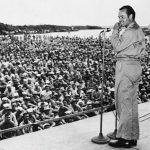 Bob Hope on USO tour, 1944 (US Army photo)
