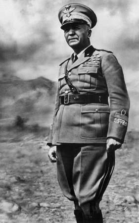Marshal Pietro Badoglio of Italy, WWII (public domain via Wikipedia)