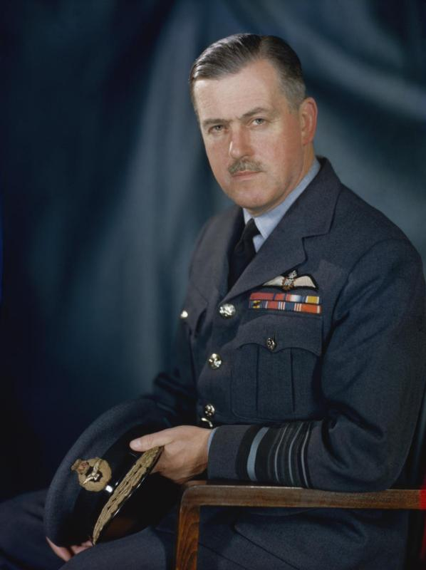 Air Chief Marshal Sir Trafford Leigh-Mallory, 1944 (Imperial War Museum: TR 2625)