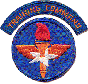 Patch of the US Army Air Force Training Command, WWII