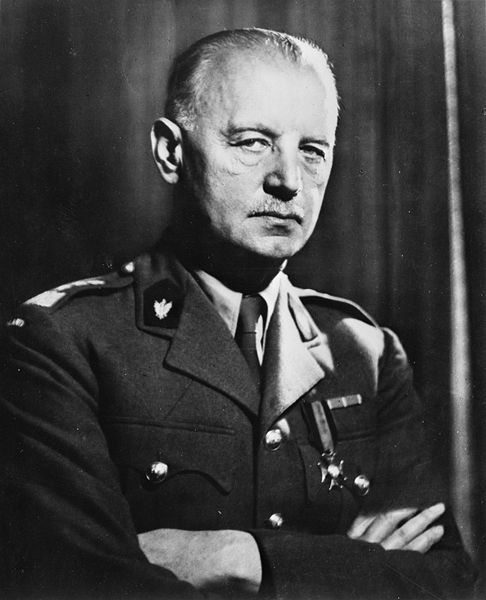 Gen. Wladyslaw Sikorski, 1942 (Library of Congress)