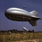 Barrage balloon, Parris Island, SC, May 1942 (Source: US Library of Congress)