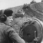 German tanks taking hill near Belgorod, Russia, 13 Aug 1943 (German Federal Archive: Bild 146-1975-080-22)
