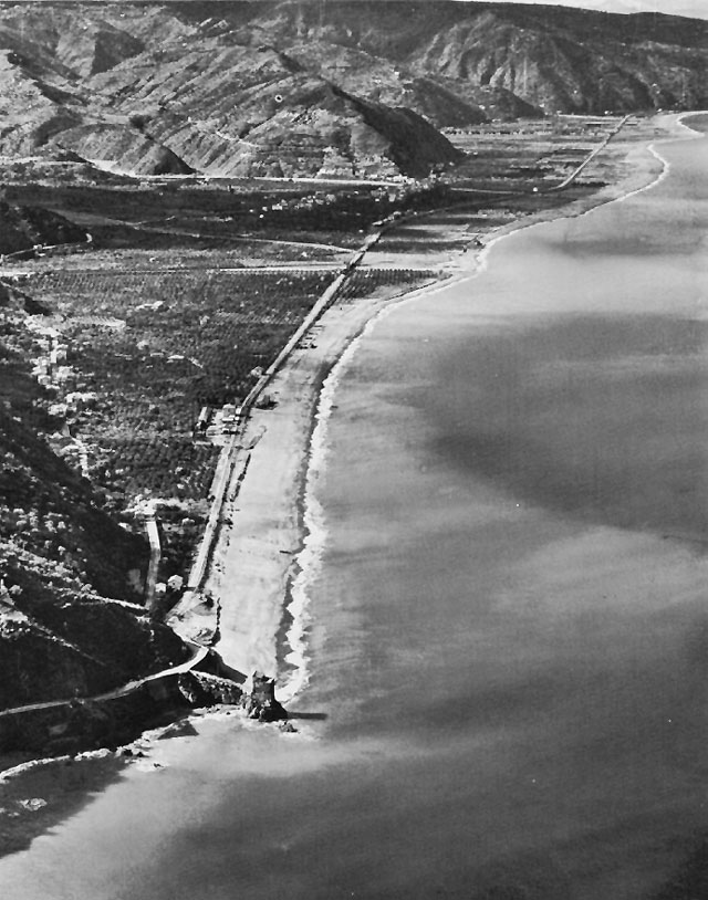 Brolo Beach, Sicily, WWII (US Army Center of Military History)