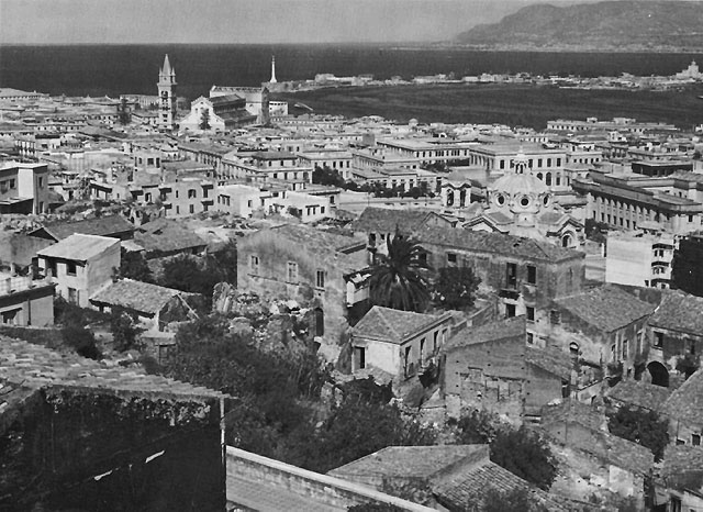Messina, Sicily, WWII (US Army Center of Military History)