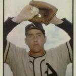 1953 Bowman baseball card of Carl Scheib of the Philadelphia Athletics (public domain via Wikipedia)
