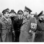 Maj. Gen. Adolf Galland and Albert Speer, September 1943 (German Federal Archive: Bild 183-H28427)