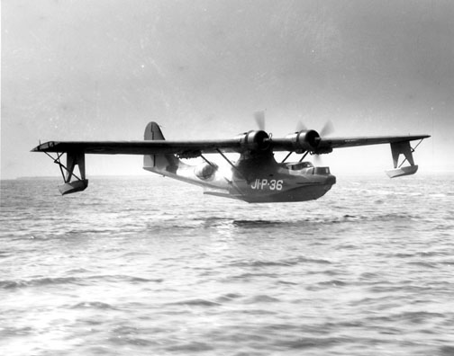 US Navy PBY Catalina used for antisubmarine patrols (US Navy photo)