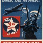 Poster for US Third War Loan Drive, Sept. 9-Oct. 1, 1943