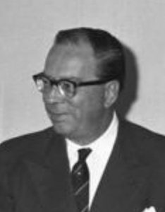 Georg Duckwitz, 1960 (German Federal Archive: B 145 Bild-F008672-0027)