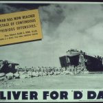 US Navy poster with quote from Adm. Alan Kirk, 1944 (US National Archives)