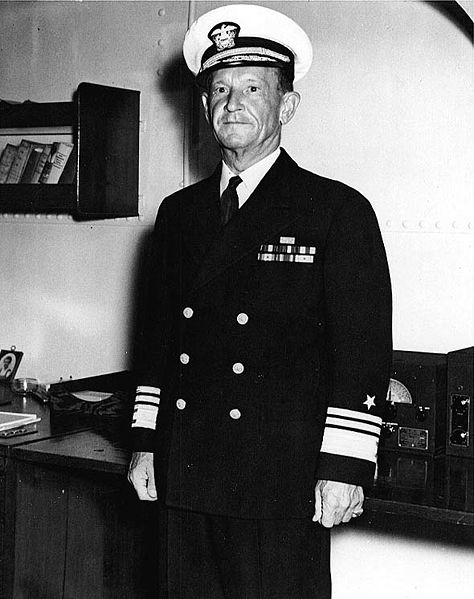 Adm. Frank Jack Fletcher, September 1942 (US Navy photo)