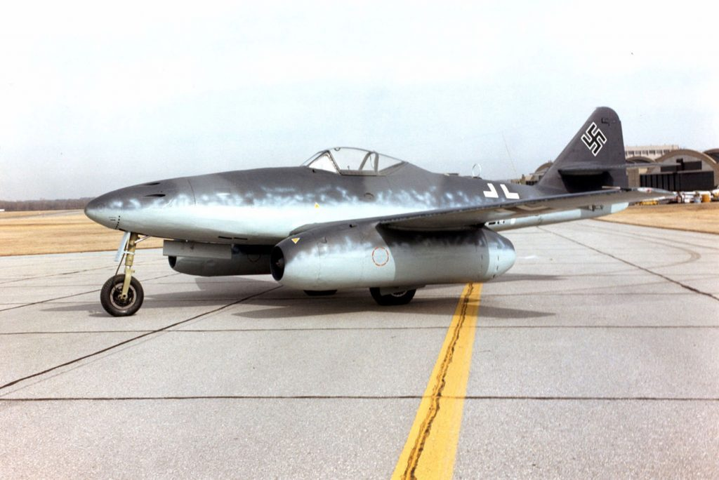Messerschmitt Me 262A at the National Museum of the United States Air Force (US Air Force photo)