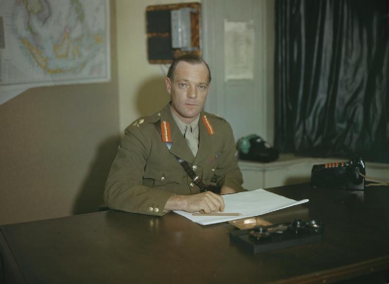 Robert Laycock, 1943 (Imperial War Museum)