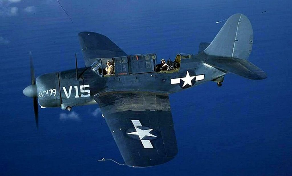 Curtiss SB2C Helldiver, 1943-45 (US Navy photo)