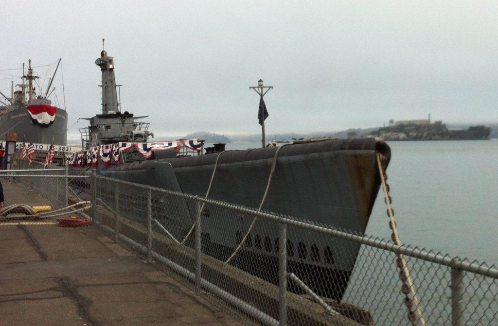 Submarine USS Pampanito, San Francisco, CA, October 2014 (Photo: Sarah Sundin)