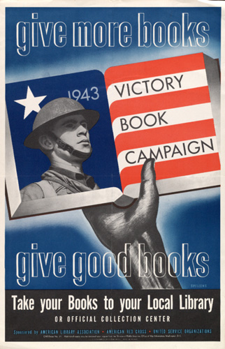 Poster for the US Victory Book Campaign, 1943