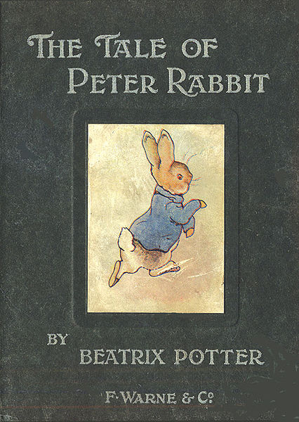 First edition of The Tale of Peter Rabbit by Beatrix Potter, 1902